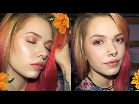 Glowy Skin & Natural Makeup Tutorial