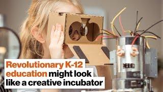 Revolutionary K-12 education might look like a creative incubator | Catherine Fraise