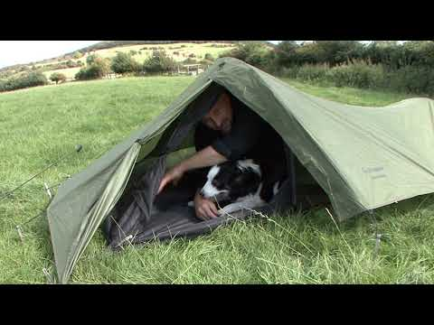 SNUGPAK Ionosphere - TALL MAN Tent Review !
