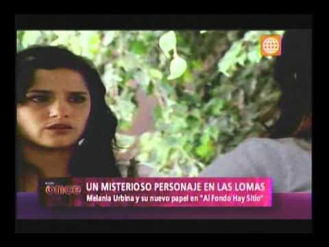 A las Once - Melania Urbina y su retorno a las pantallas de America TV - 09/01/13