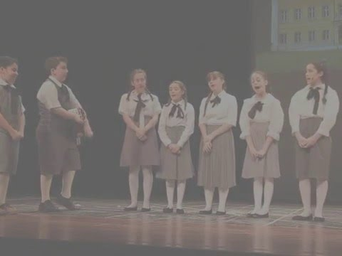 Maya Kharem performing as Maria in The Sound of Music