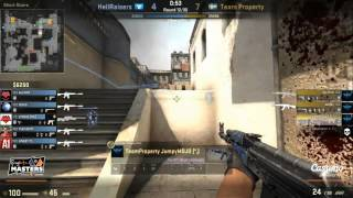 Team Property Emilio VAC Banned LIVE During Team Property vs Hellraisers 9 10 2014
