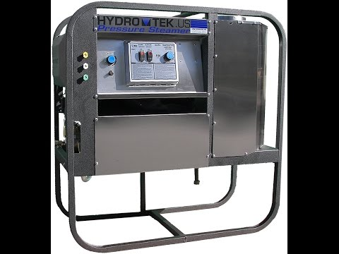 Hydro Tek HN Series Electric Powered Stationary Hot Water Pressure Washers