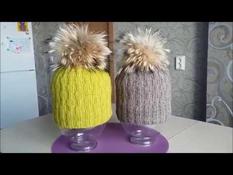 0 - Як зробити хутряний помпон на шапку?