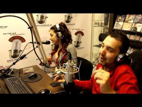 Kianna Interview 2015 - On The Air | Greek Radio