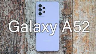 Samsung Galaxy A52 - Обзор
