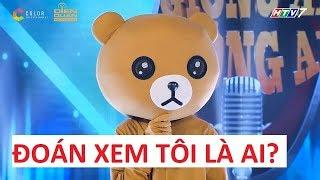 """""""Con gấu bí ẩn"""" Giọng ải giọng ai thi Thách thức danh hài Trấn Thành, Trường Giang không nhận ra!!!"""