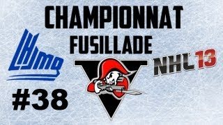 NHL 13 Quebec Commentary - Finale Championnat fusillade - Voltigeurs de Drummondville