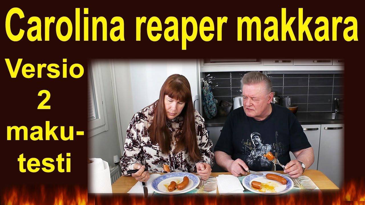 Carolina Reaper Makkara