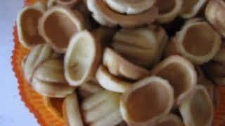 Домашние орешки с кремом как в прошлом