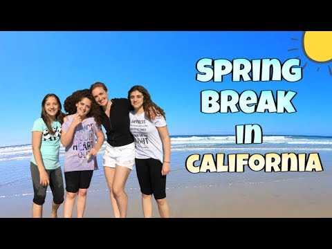 California Vacation Vlog!
