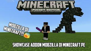 Mobzilla Di Minecraft || Showcase Addon Mobzilla Di Minecraft Pe