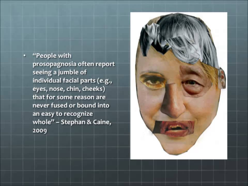 prosopagnosia biopsychology youtube