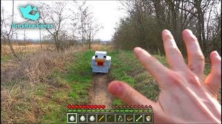 Realistic Minecraft in Real Life Chicken from Egg  - IRL Animation - Top 5 Best Epizode