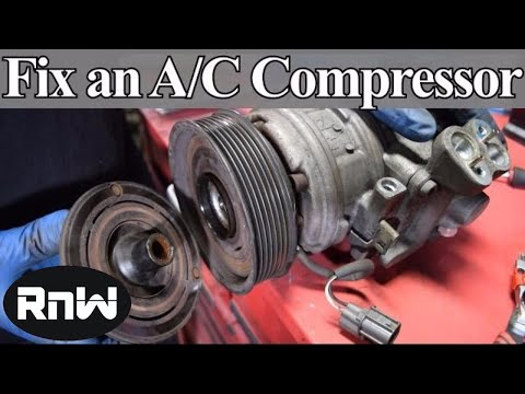 How to Diagnose and Replace an A/C Compressor Coil, Clutch and Bearing on Your Car
