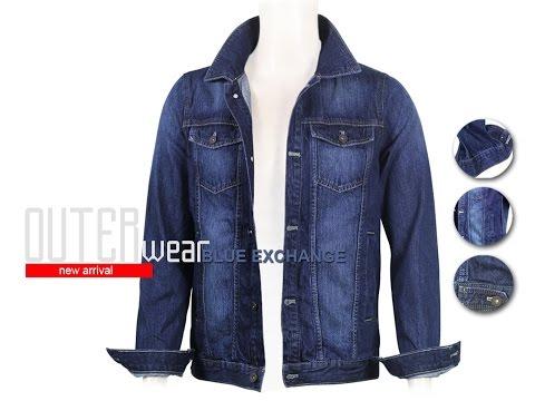 Áo Khoác Jeans Nam Blue Exchange