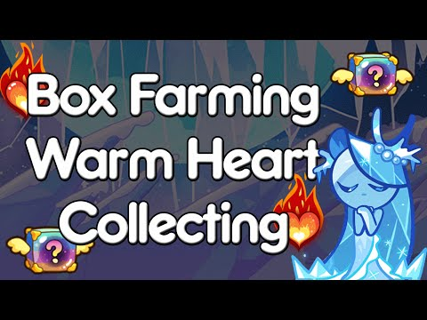 LINE Cookie Run Box Farming and Warm Heart Collecting in NEW SEASON