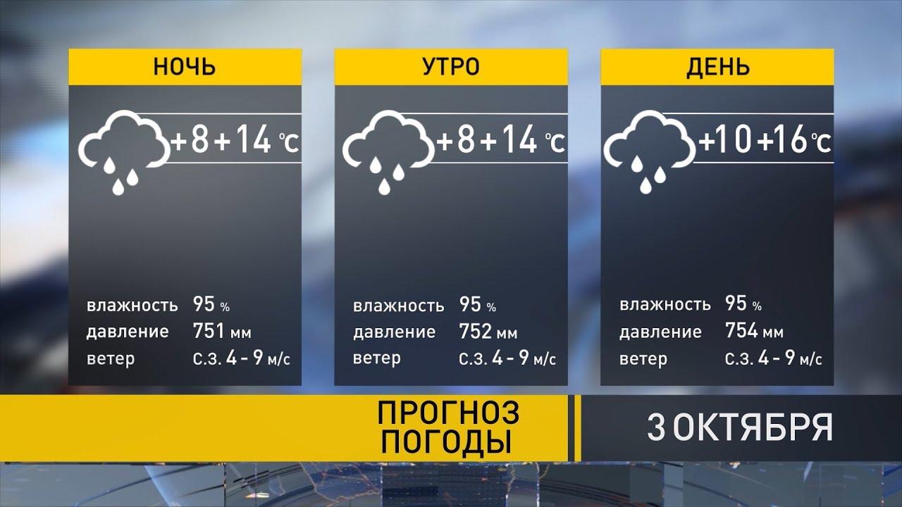 Прогноз погоды на 3 октября: будет на 5 градусов теплее нормы!