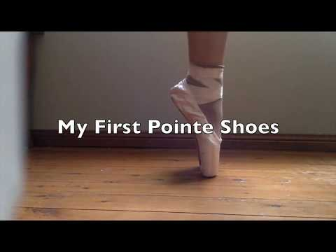 My First Pointe Shoes,  Am I good? Bloch Hannah