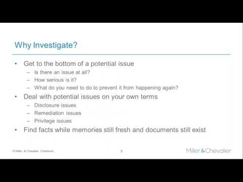 Government Investigations: How to Protect your Organization