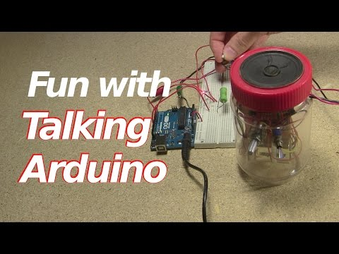 Fun with Arduino that Talks with Speech Synthesizer