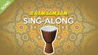 A Ram Sam Sam | Nursery Rhymes | Children Songs [Sing-Along with Lyrics]
