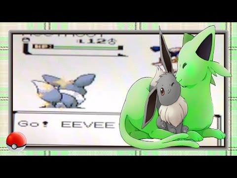 (LIVE!!) Pokemon Crystal [2nd Gen]- Shiny Eevee: After ONLY 825 SR's! {+Evolution}