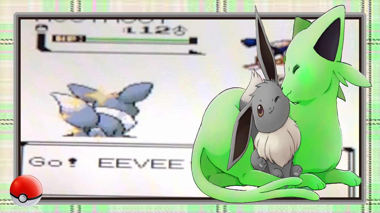 Live Pokemon Crystal 2nd Gen Shiny Eevee After Only 825 Sr S