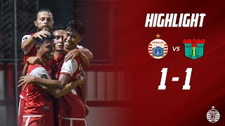 PERSIJA JAKARTA 1 - 1 PERSITA TANGERANG   Friendly Match