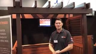 Knotwood Aluminium Cladding Decking Screens Pergolas   Sydney Home Show