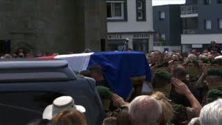 Obsèques de Cédric de Pierrepont, militaire tué au Burkina Faso | AFP Images