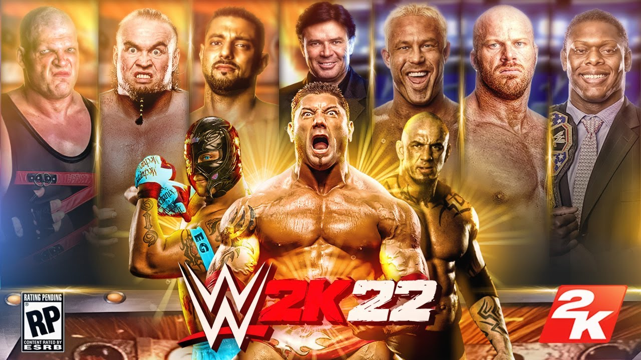 WWE 2K22 Roster - BRAND NEW RUTHLESS AGGRESSION SUPERSTARS FOR THE GAME