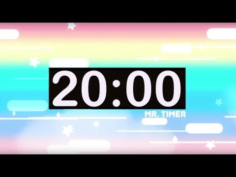 20 Minute Timer with Music for Kids!
