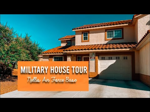MILITARY BASE HOUSING TOUR | NELLIS AIR FORCE BASE