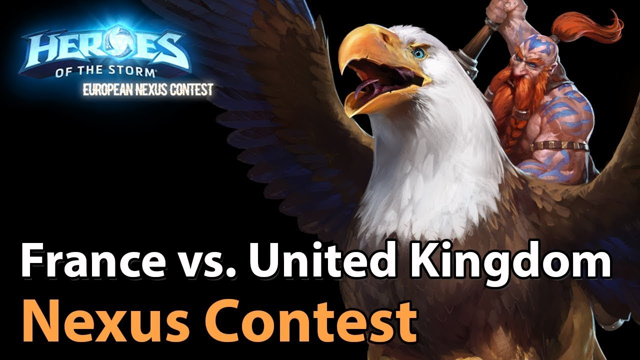 ► Heroes of the Storm Nations Cup: France vs. United Kingom - Quarterfinals