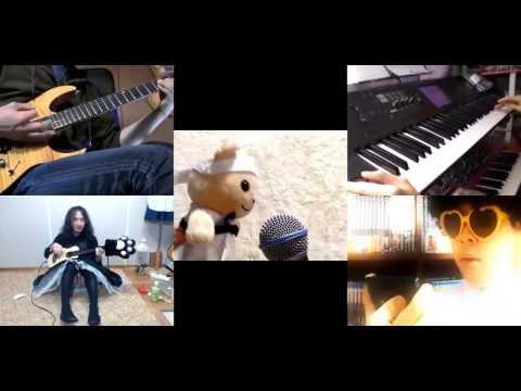 [HD]SPACE DANDY ED [X Jigen E Youkoso] Band Cover