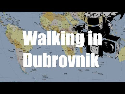 Walking in Dubrovnik, Croatia | GoPro Gimbal Feiyu | Virtual Trip