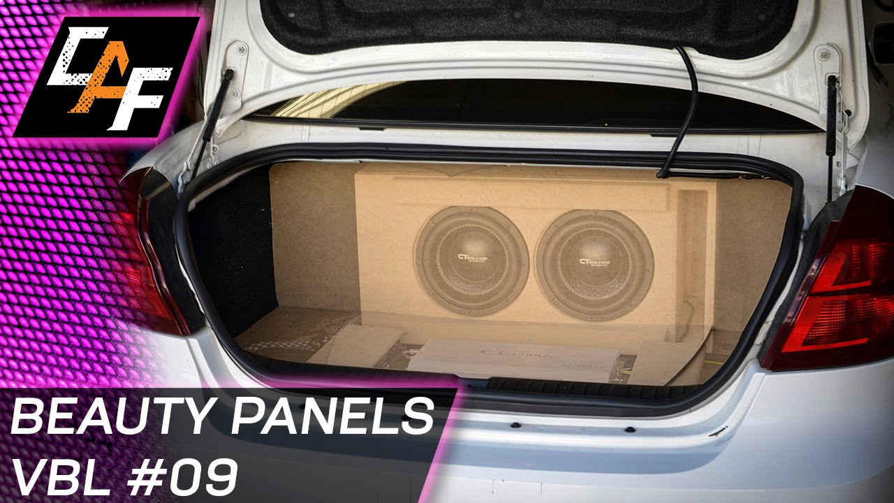 Matching Car Interior Walls Beauty Panel False Wall