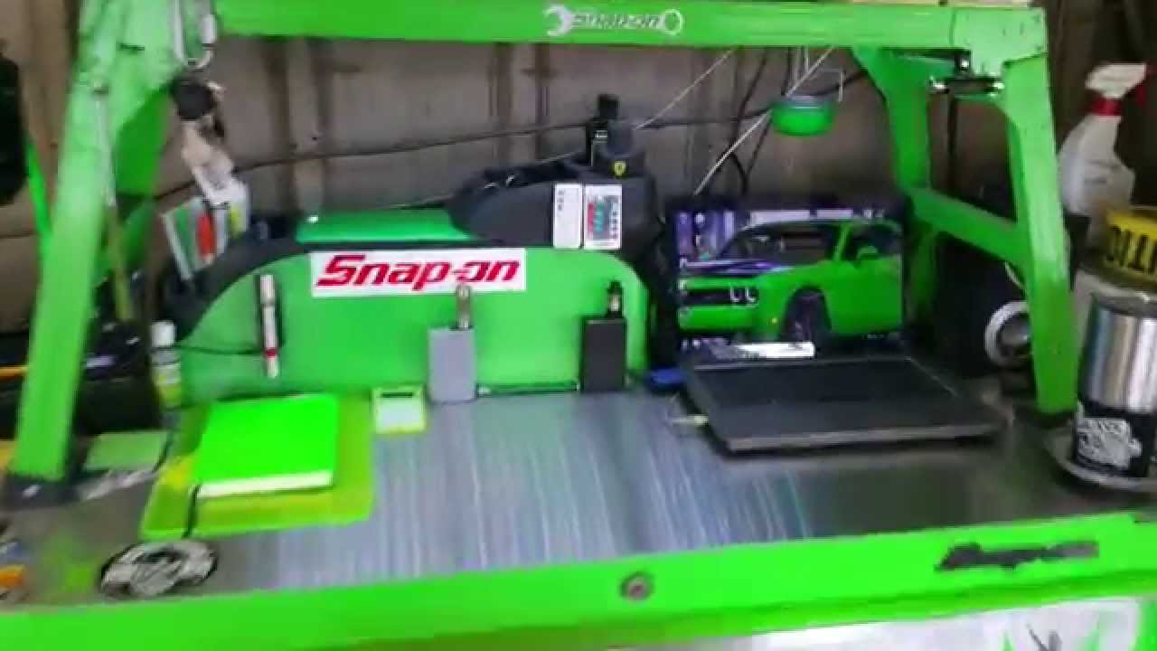 Green Snap On Toolbox Tour Update Youtube