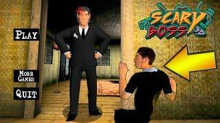 НЕПОСЛУШНЫЙ босс в ОФИСЕ приколы над BOSS - игра от Разработчиков Scary Teacher 3D