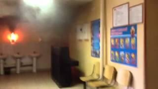 Небольшой пожар в школе N19