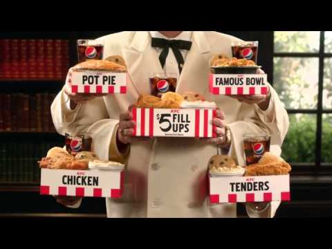 KFC Commercial 2016 Colonel Sander $5 Fill Up