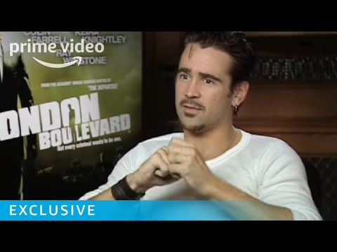 Colin Farrell Talks Ray Winstone and London Boulevard | Prime Video