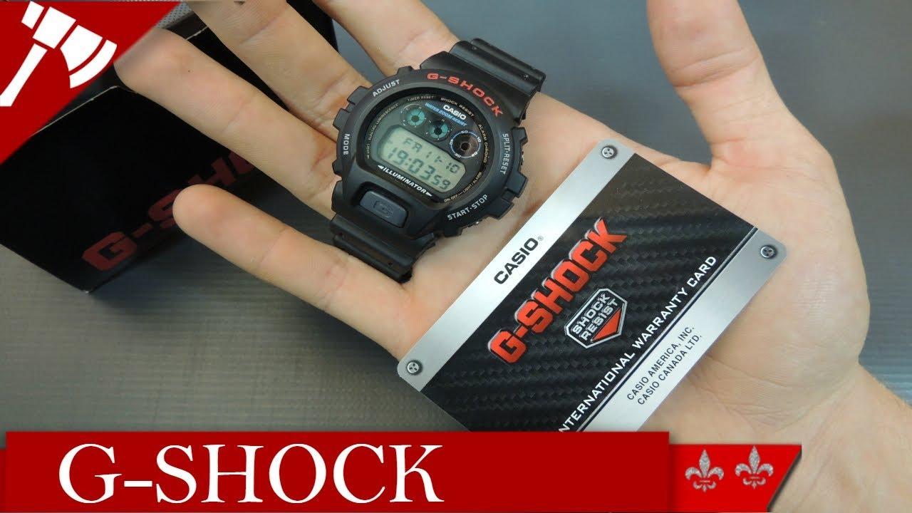 9a11b0e11d9 Relógio G-SHOCK DW-6900- INDESTRUTÍVEL! - YouTube
