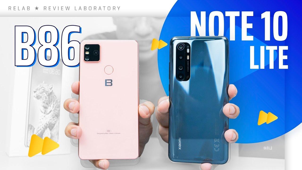 Bphone B86 vs Xiaomi Mi Note 10 Lite – Dưới 9 triệu bạn chọn máy nào?