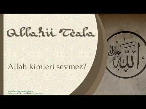 Allah Kimleri Sevmez? - Sorularla İslamiyet