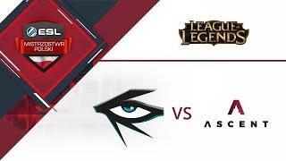 Illuminar Gaming vs Team Ascent | ESL Mistrzostwa Polski S16. W5D2