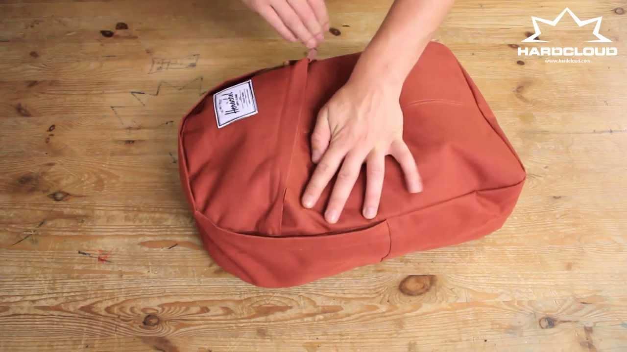 739e963096f Herschel Parker backpack demo - YouTube