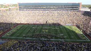 Watch New York Philharmonic Orchestra brass play Michigan halftime show
