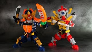 LEGO Kamen Rider Gaim & Baron